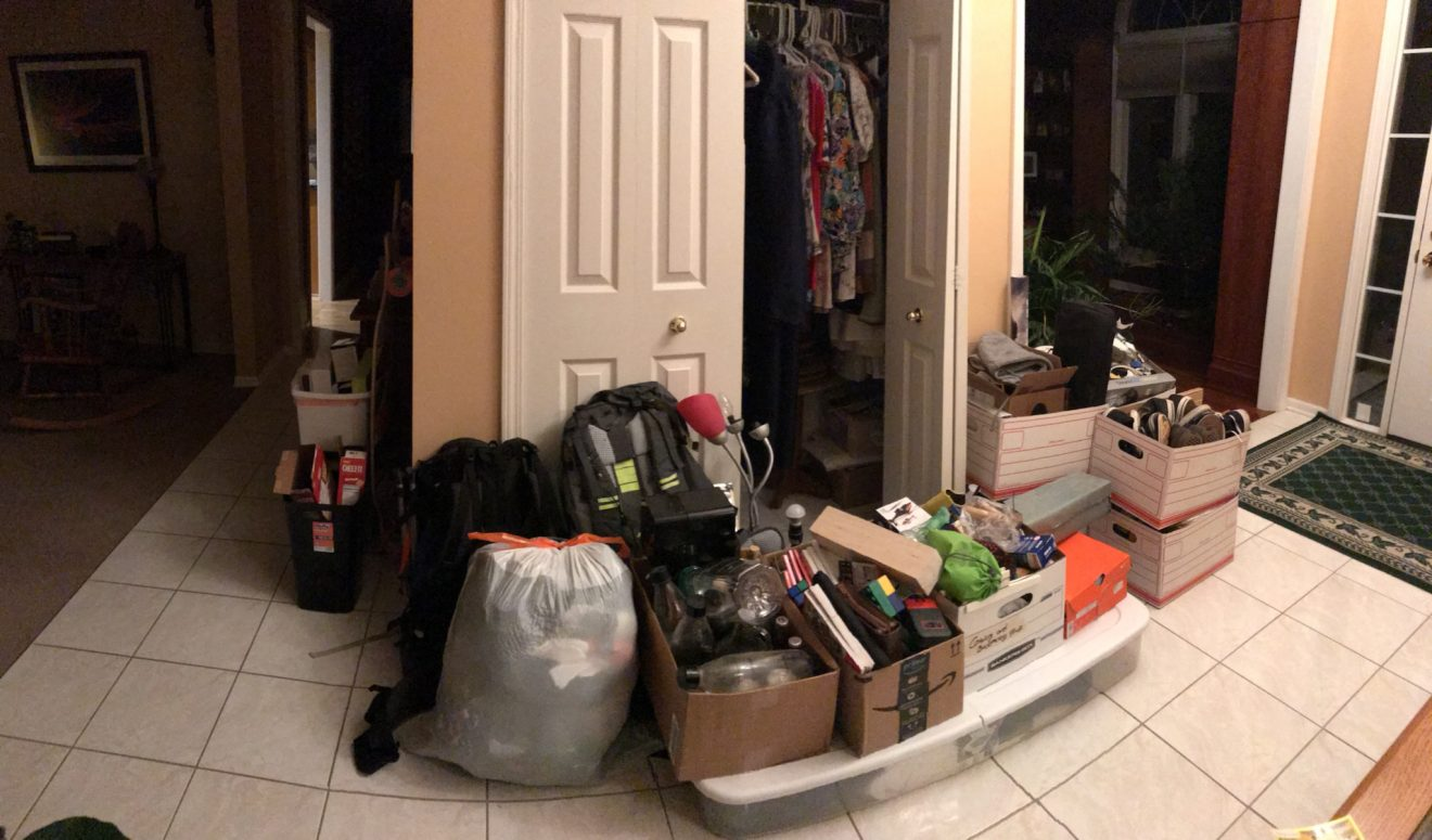 How to clean a junk room